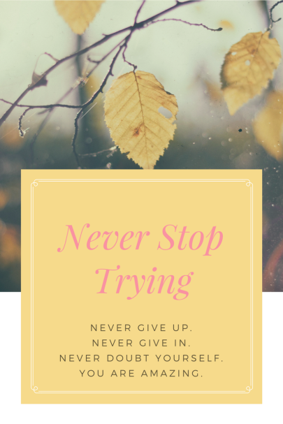 Never Stop Trying (1)